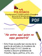 POLIEDROS DIAPOSITIVAS