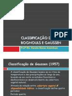 Classificação de Gaussen
