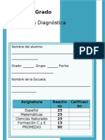4to Grado - Diagnóstico (2013-2014)
