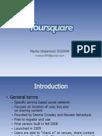 Foursquare FINALl