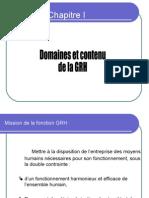26109733 Domaines Et Contenu Du GRH