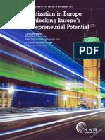 Digitization in Europe - Unlocking Europe's Entrepreneurial Potential