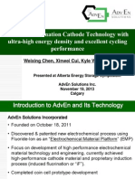 AdvEn Solutions - Battery research