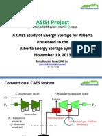 Alberta Saskatchewan Intertie Storage