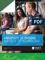 2010-2011 UOIT Viewbook