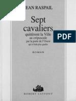 Raspail Jean - Sept Cavaliers