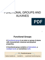functional groups and alkanes lec