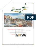 Gateway at Kirkwood Site Proposal by Novus - Kirkwood, MO