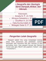 Letak Geografis Geologis Indonesia