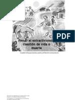 Frenar El Extractivismo Cuestion de Vida o Muerte