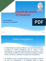 FABRICACIÓN DE LENTES OFTÁLMICAS