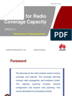 OG101 Planning for Radio Coverage Capacity