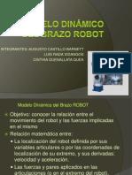 Modelo Dinámico del Brazo ROBOT