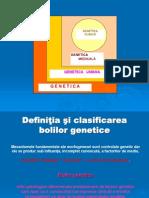 12. Genetica Clinica - Intr