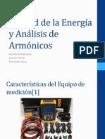 Calidad de la Energía y Análisis de Armónicos