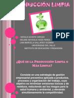 PRESENTACION PRODUCCIÓN LIMPIA