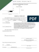 Criminal Complaint Against Ryan Loskarn
