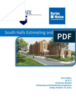 South Halls Estimating and Scheduling