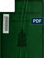The House of Commons in Debate by Reginald Palgrave, HC Asistant Clerk, 1878