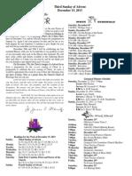 December 15, 2013 Bulletin