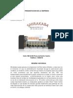 Shirakaba Primer Informe (1)