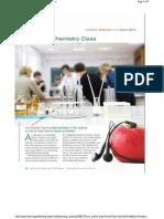 Remixing Chemistry Class