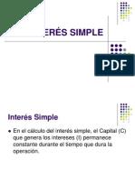 2. INTERÉS SIMPLE