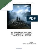 Subdesarrollo America Latina