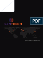 THRM 2012 Annual Report