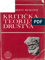 Gian Enrico Rusconi Kriticka Teorija Drustva