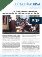 Boletín Economía Plural N° 71