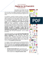 Derechos Humanos para Todos Post-2015