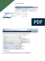 Como  instalar el Crystal Report 2005  en una aplicación de 2010