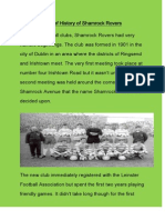 A Brief History of Shamrock Rovers