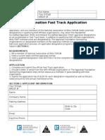 RAA and GAA Fast Track