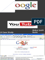 Google's Aquisition of You-Tube