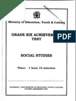 2005 Social Studies