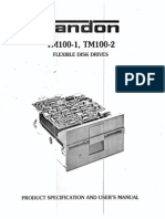 Tandon TM-100-1 Flexible Disk Drive