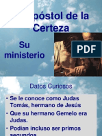 El Apóstol de la Certeza (tomás)