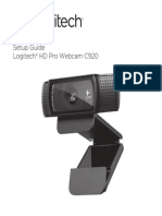 Hd Pro Webcam c920 Quick Start Guide
