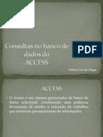 Introdução a consultas access