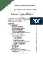 Diccionario Explicativo y Combinatorio Mel'Chuk