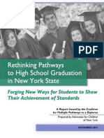 Rethinking Pathways to Graduation