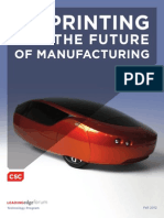 Report 3D Printing and the Future of Manufacturing