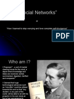 ST4NM Class 1 - Social Networks