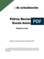 Test Tema Direccion General de La Policia Actualizado