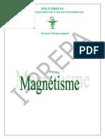 Envoi 21. Cours Magnétisme et exercices