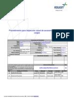 Procedimiento para inspección visual de accesorios para izaje de cargas _ACPU-AGE-OPS-PRO-5.4-010-01_ Rev 3