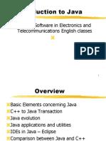 C1 2 Java Introduction 2013