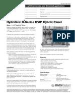 HydroNex Specification D-Series DVIP Hybrid Panels